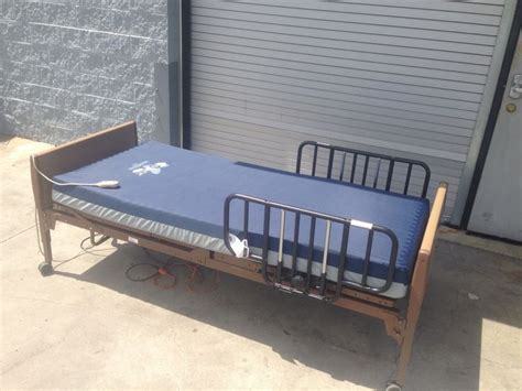 invacare 5310ivc semi electric bed with invacare solace prevention sps 1080 mattress package