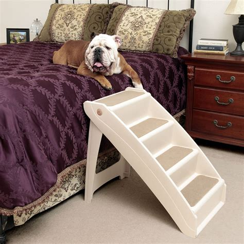 dog bed with stairs solvit pet steps dogs cats stairs foldable r bed chair