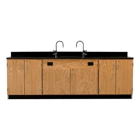 service bench warranty diversified woodcrafts wall service bench w storage cabinets doors only phenolic