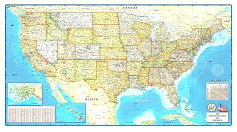 poster map of usa usa map poster large frtka