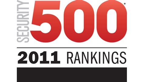 sec 500 2011 rankings 2011 10 27 security magazine