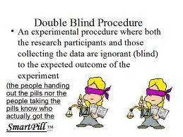 what is a blind procedure ap psychology project 2012 at washington high school