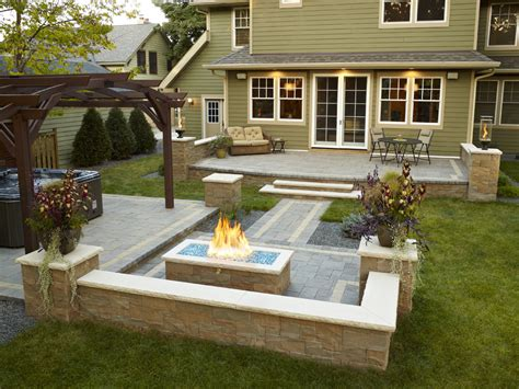 hot tub backyard 23 wonderful backyard designs with hot tub and fire pit