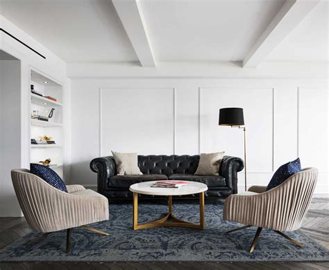 A Renovated Park Island Apartment a classic 7 pre war apartment in nyc is renovated by studiolab design milk