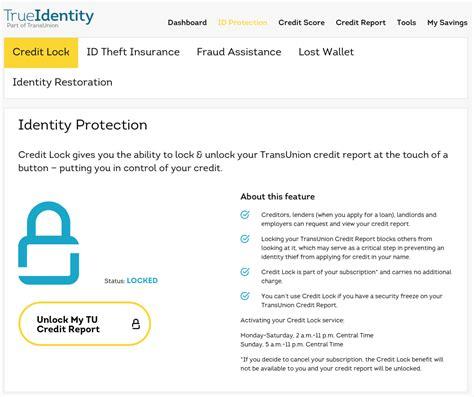 free transunion credit report true identity review free unlimited transunion credit