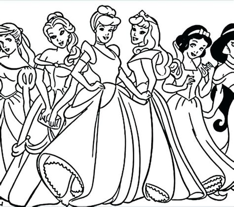 coloring pages of princesses coloring pages of princesses in disney dr schulz