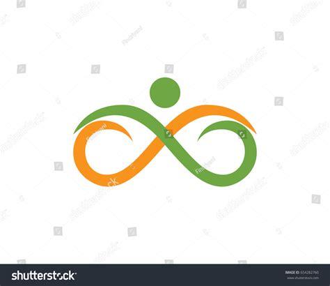 infinity logo stock vector 654282760
