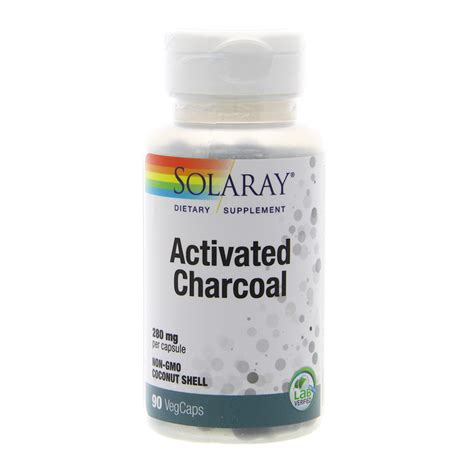 Pressery Detox Activated Charcoal Review by Activated Charcoal 280 Mg Solaray