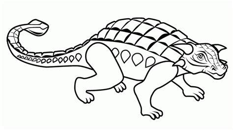 Ankylosaurus Coloring Page ankylosaurus coloring page az coloring pages