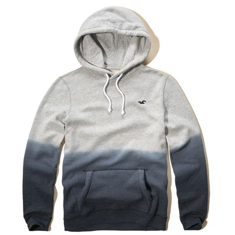 Hollister Iconic Dyed Hoodie in Gray for Men - Lyst Hollister Sweaters For Girls Grey