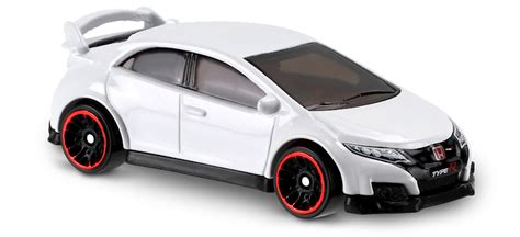Hotwheels Civic Type R Then And Now 16 honda civic type r in white then and now car collector wheels