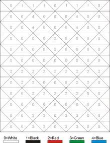 hidden pictures worksheet clown color by numbers