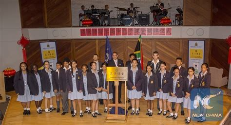 groote schuur high school s africa opens new confucius classroom as chinese