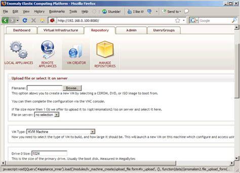 ubuntu server kvm tutorial kvm virtualization with enomalism 2 on an ubuntu 8 10