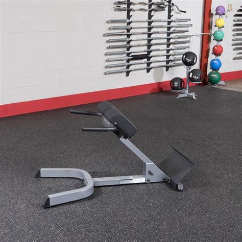 body solid hyperextension bench ghyp345 body solid 45 176 back hyperextension body solid