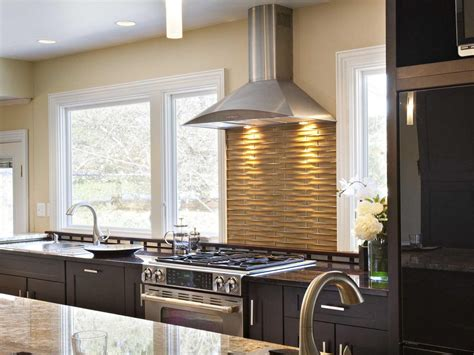 kitchen stove backsplash ideas pictures tips from hgtv hgtv