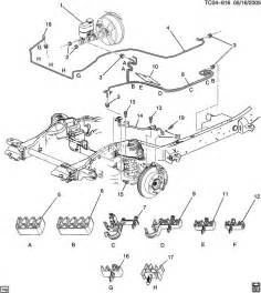 Service Brake System Escalade Escalade Brake Line Schematic Autos Post