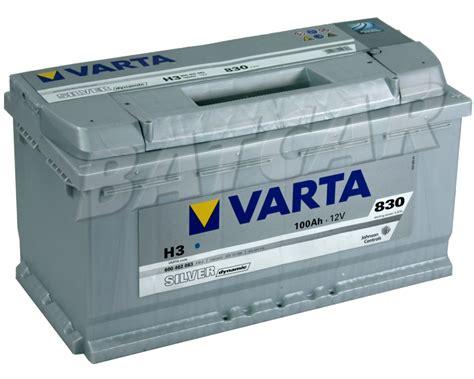 Auto Batterien by Varta 100ah 830a En Silver Dynamic H3 Autobatterie