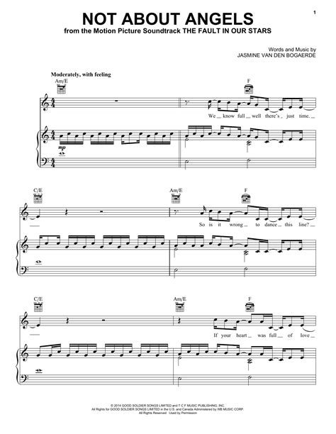 tutorial piano not about angels not about angels sheet music by birdy piano vocal