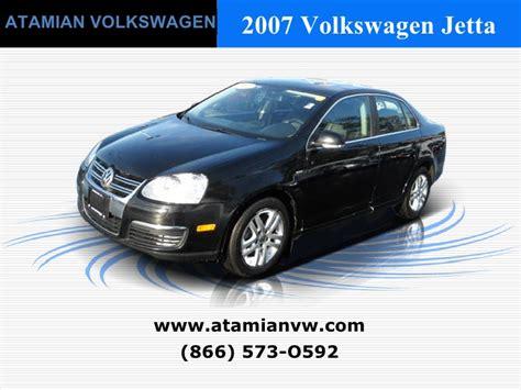 Atamian Volkswagen by Used 2007 Volkswagen Jetta Sedan Manual Wolfsburg Edition