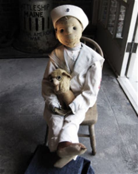 haunted doll robertina the the robert the doll enjoys some