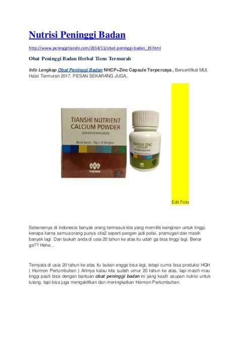 jual obat peninggi badan herbal