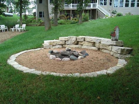 backyard with fire pit landscaping ideas great backyard landscaping ideas with fire pit mystical
