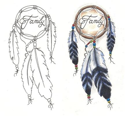 dream catcher tattoo with names catcher designs freebies designs