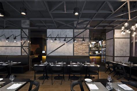 Entrée Style Industriel by Knrdy Un Restaurante Con Dise 241 O Contemporaneo Y Elegante