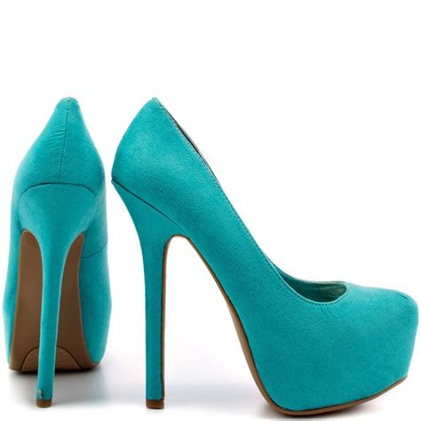 teal color shoes teal high heels search my style teal high