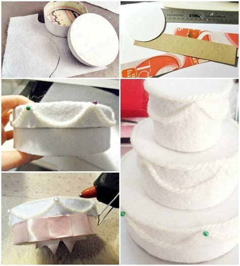 How To Make A Cake Box Out Of Paper - felt wedding cake gift box 183 how to make a decoration