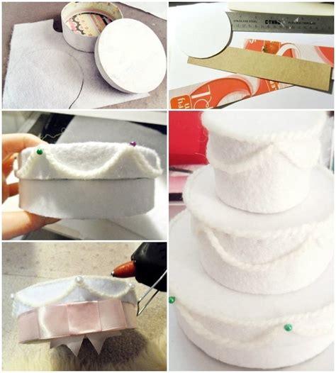 felt wedding cake gift box 183 how to make a decoration - Wedding Box Tutorial
