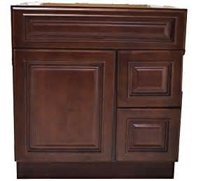 30 inch all wood heritage cherry bathroom