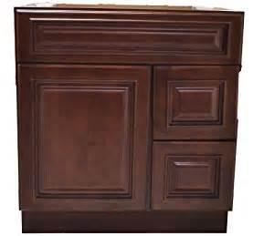 all wood bathroom cabinets 30 inch all wood heritage cherry bathroom