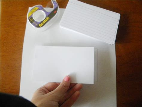 Printing Onto Index Cards How To Print On An Index Card