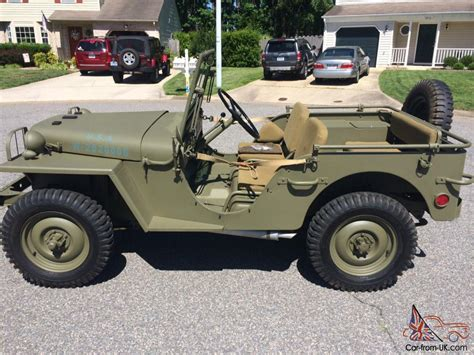 Ww2 Jeeps Willys Ma Ww2 Prototype Jeep Ma Ww2 Prototype