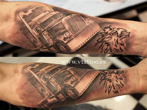 truck tattoos truck www vtattoo es miguel bohigues flickr