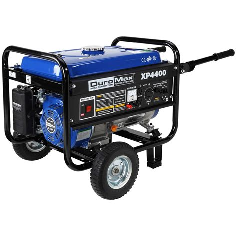 duromax 174 mx4400 recoil start 4 400 watt portable gas