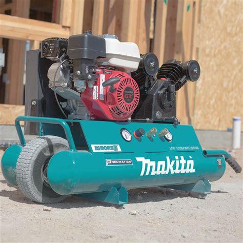 makita mac5501g 5 5 hp 100 psi v big bore gas portable air tool compressor ebay