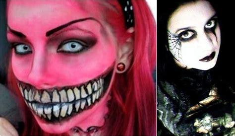 imagenes de halloween para pintarte la cara como pintarse la cara para halloween imagui