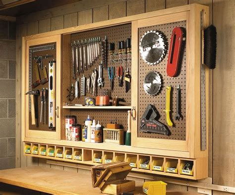 Wooden Tool Cabinet Plans Free