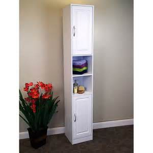 Narrow Bathroom Storage Cabinet Narrow White Storage Cabinet Gotofurniture