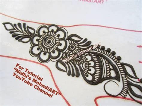 henna tattoo design tutorial diy arabic mehndi designs for practice for beginners