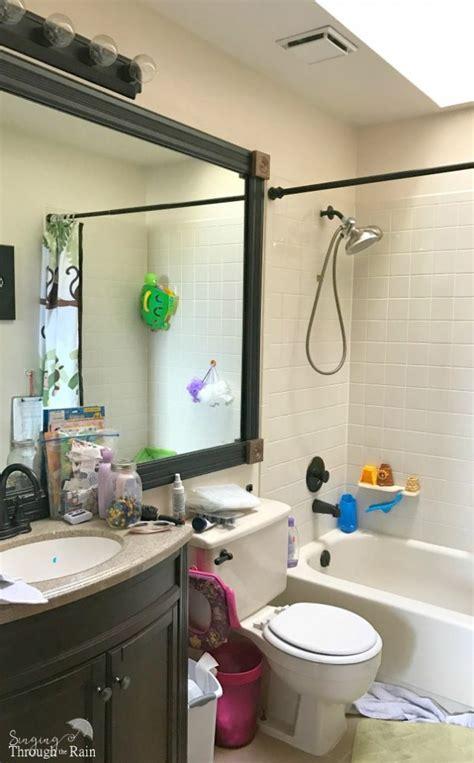 how to paint small bathroom spring bathroom refresh how to paint a small bathroom