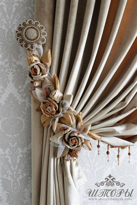 tie back curtains window treatments 183 best tie backs for curtains images on pinterest