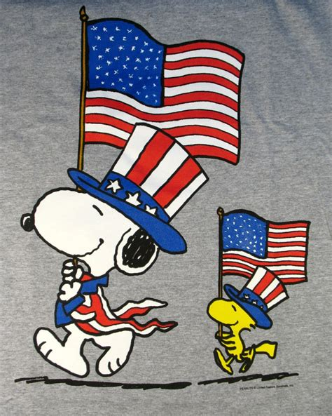 brown day go fourth and a happy 4th snoopy