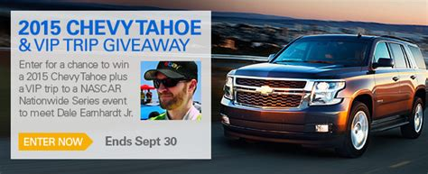Chevrolet Sweepstakes - 5 reasons why the 2015 chevrolet tahoe is the suv for you ebay motors blog