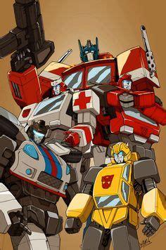 Mecha Transformer Optimus Ironhide Bumblebee Shockwave shockwave by bad flip productions transformers