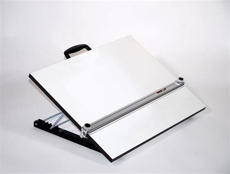 table top drafting board adjustable angle portable drafting table with straightedge