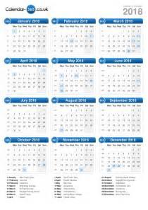 Suriname Calendario 2018 Calendar 2018